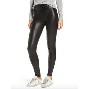 Spanx Faux Leather Leggings Medium B213